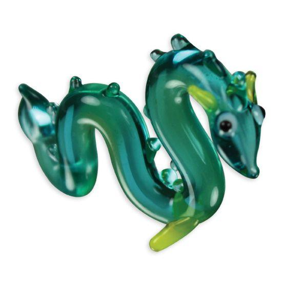 LookingGlass Brent The Sea Serpent Collectible Glass Miniature Figurine