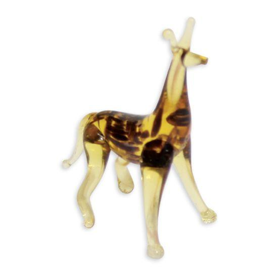 LookingGlass Geoff The Giraffe Collectible Glass Miniature Figurine