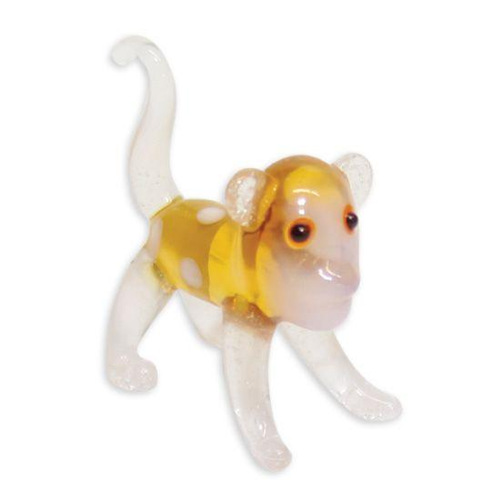 LookingGlass Mookie The Monkey Collectible Glass Miniature Figurine