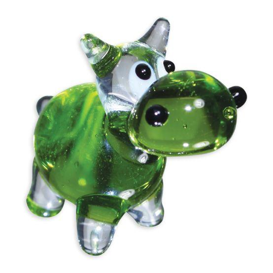 LookingGlass Hiphop The Hippo Collectible Glass Miniature Figurine