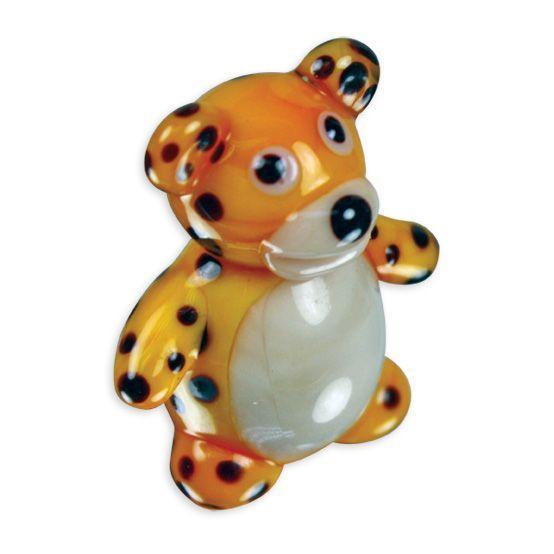 LookingGlass Leo The Leopard Collectible Glass Miniature Figurine
