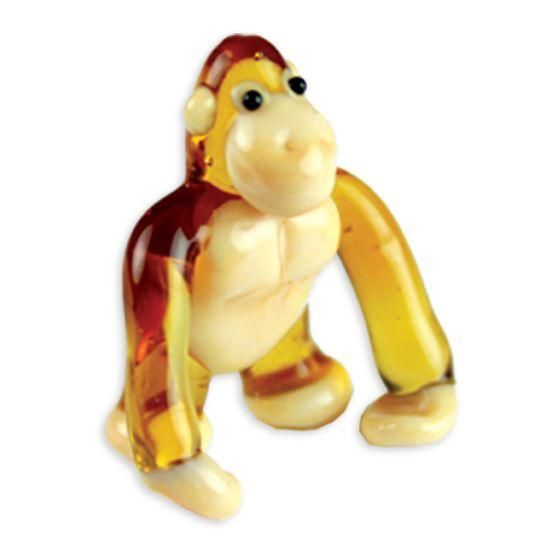 LookingGlass Kango The Gorilla Collectible Glass Miniature Figurine
