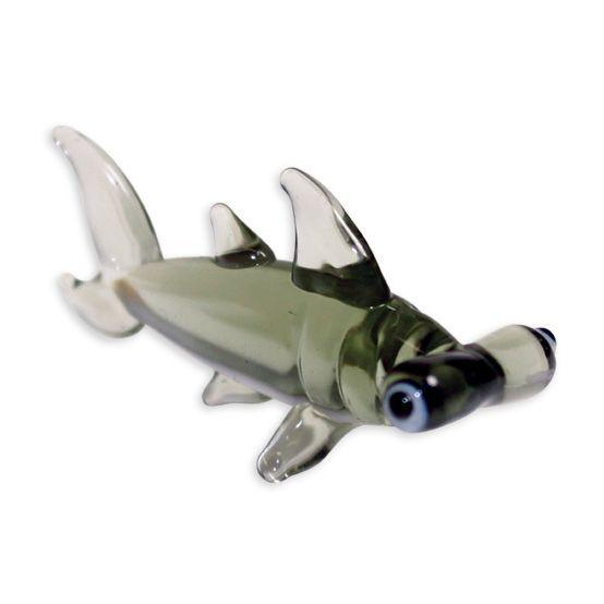 LookingGlass Harley The Hammerhead Collectible Glass Miniature Figurine