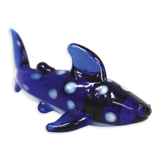 LookingGlass Gigantor The Whale Shark Collectible Glass Miniature Figurine