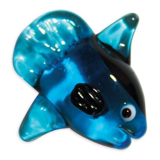 LookingGlass Mola Mola The Sunfish Blue Collectible Glass Miniature Figurine