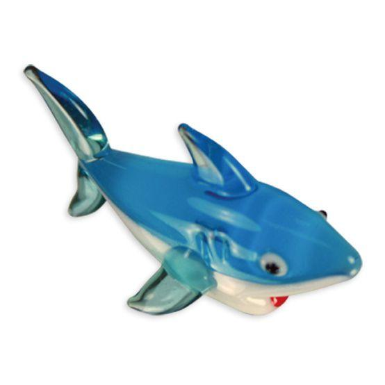 LookingGlass Parker The Shark Collectible Glass Miniature Figurine
