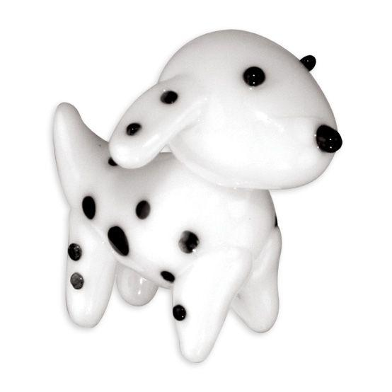 LookingGlass Sal The Dalmatian Collectible Glass Miniature Figurine