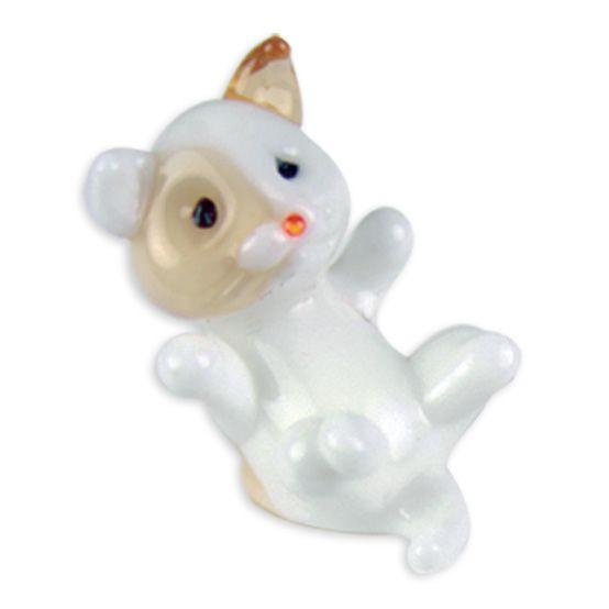 LookingGlass Kelsie The Kitten Collectible Glass Miniature Figurine