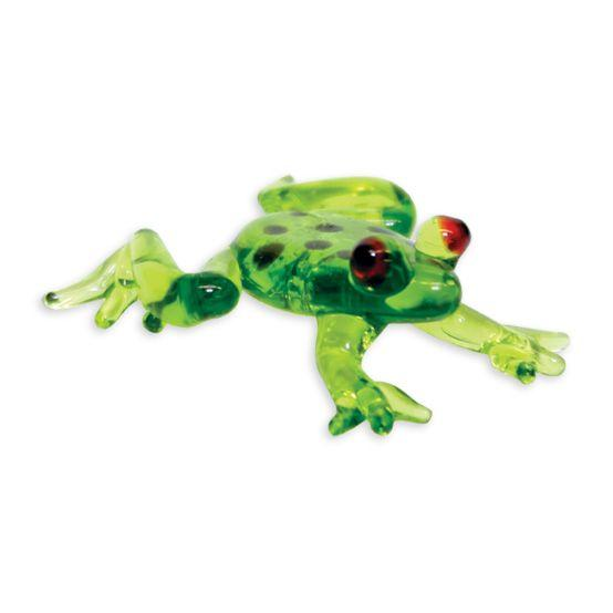 LookingGlass Poison The Dart Frog Collectible Glass Miniature Figurine