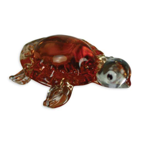 LookingGlass Tory The Tortoise Collectible Glass Miniature Figurine