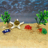 LookingGlass Crabs Set Minature Glass Collectibles, Pack of 4