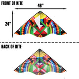windnsun winddelta nylon kite dimensions