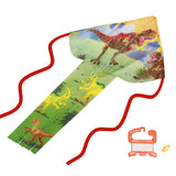 windnsun breezyfliers dinosaurs nylon kite