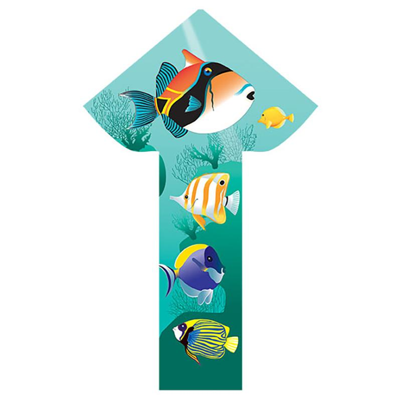WindNSun BreezyFliers 42 Tropical Fish Nylon 26 Inches Wide