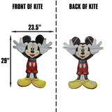 WindNSun SkyPals Disney Mickey Mouse Nylon Kite 29 Inches Tall