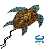 WindNSun SeaLife SeaTurtle Nylon Kite, 40 Inches Tall