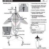 windnsun sealife orca nylon kite assembly instructions