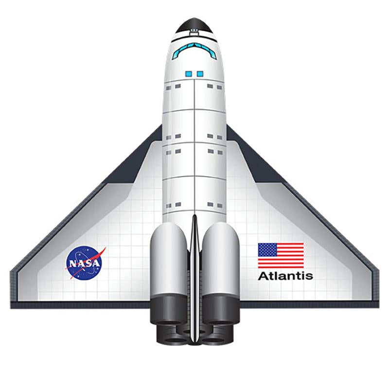 WindNSun Flightzone Space Shuttle Atlantis 52 inches Tall