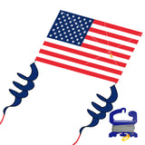 windnsun supersize 2d usa flag nylon kite