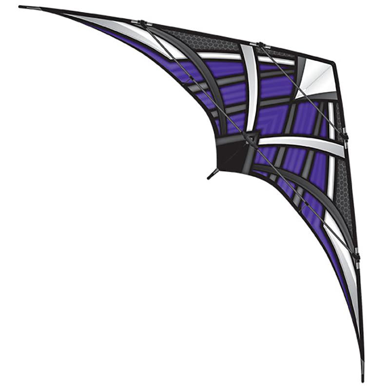 WindNSun NK93 Prosport Purple Ripstop Nylon Stunt Kite 93 Inches Wide