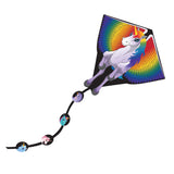 X Kites DLX Diamond Unicorn Nylon Kite, 26 Inches Wide