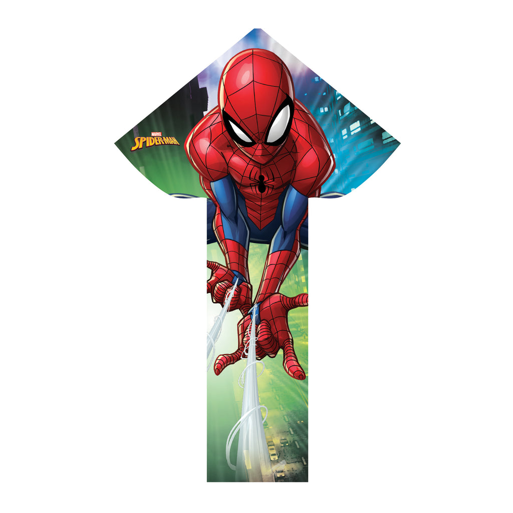 X Kites SkyFlier 50 Spider-Man Nylon Kite, 50 Inches Tall