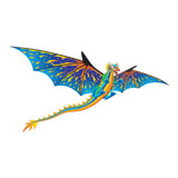 WindNSun SuperSize 3D Blue Dragon Nylon Kite, 76 Inches Wide