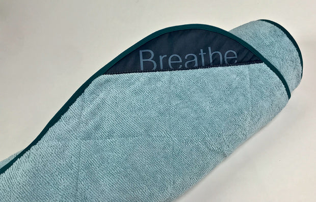 "Breathe Mat - Aquatic Breathe Mat w/ Turquoise Bias 80"" Long"