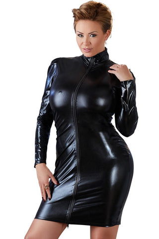 new mistress dress wet look may