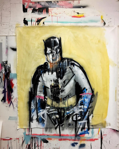 Marco Miller Batman Painting