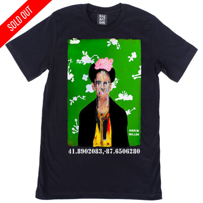 "Unisex T-shirt ""Big Frida"" by Marco Miller"