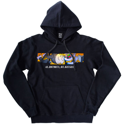 "PakRat Ink Unisex Hoodie ""Book Learnin'"" by Mosher"