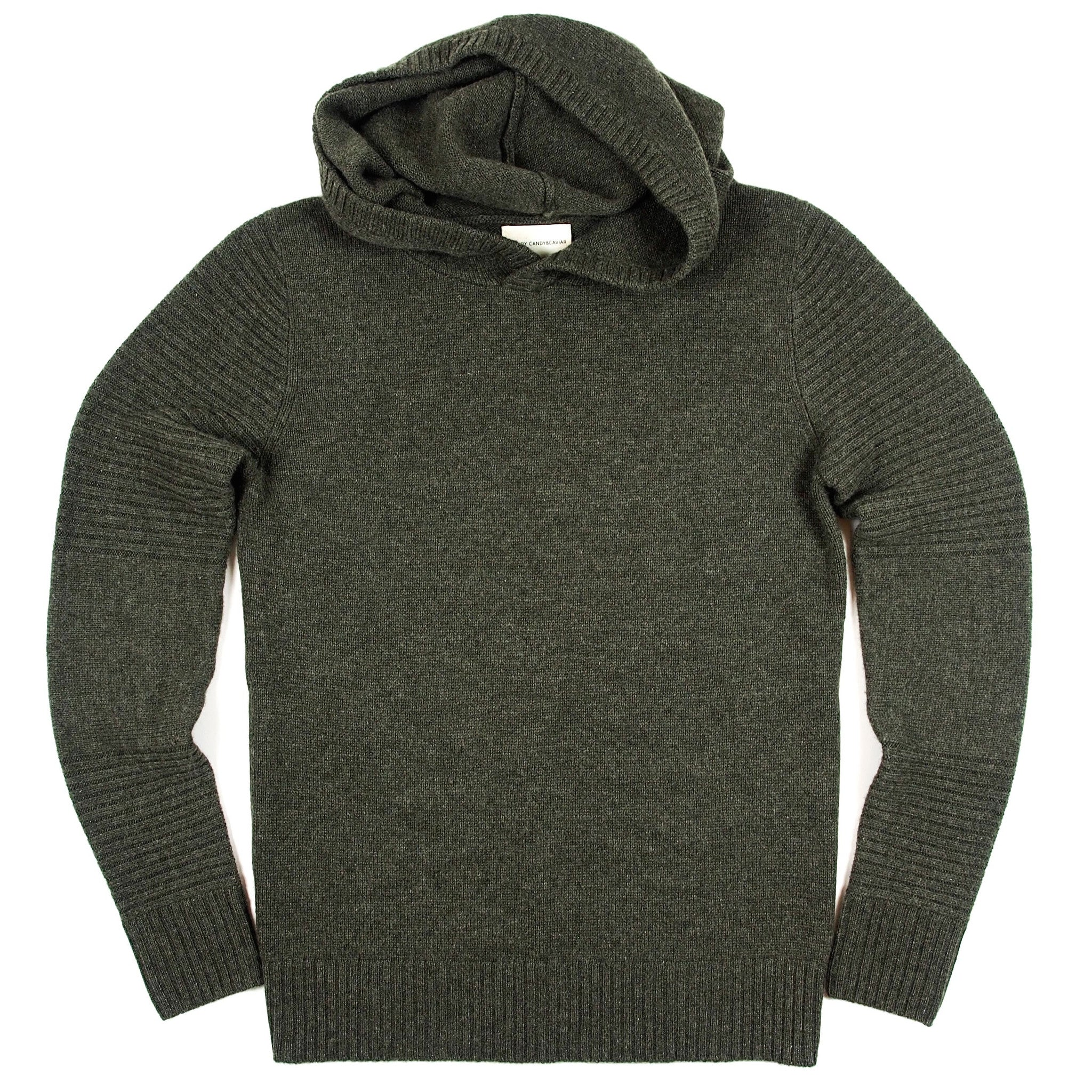 Cashmere pullover hoodie
