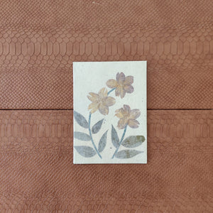 Natural Embossed Greeting Card