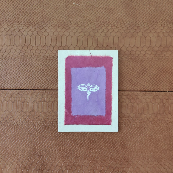 Buddha Symbols Greeting Card