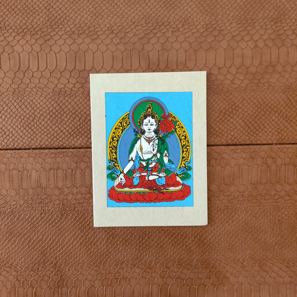 Lady Buddha Greeting Card