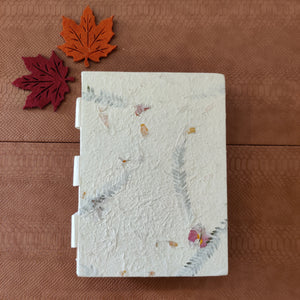 Flora Embossed Visitor's Book