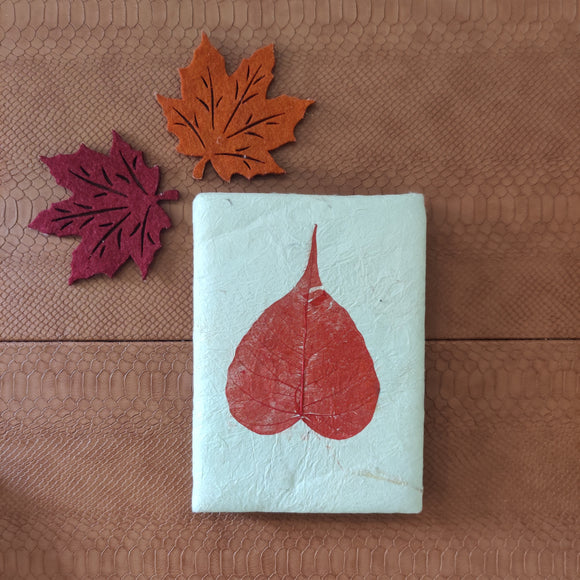 Ek Peepal Leaf Fluffy Journal
