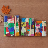Multi-Coloured Collage Journal
