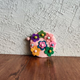 Flower Cluster Sphere Pouches