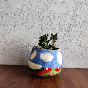 Embroidered Pot Holder