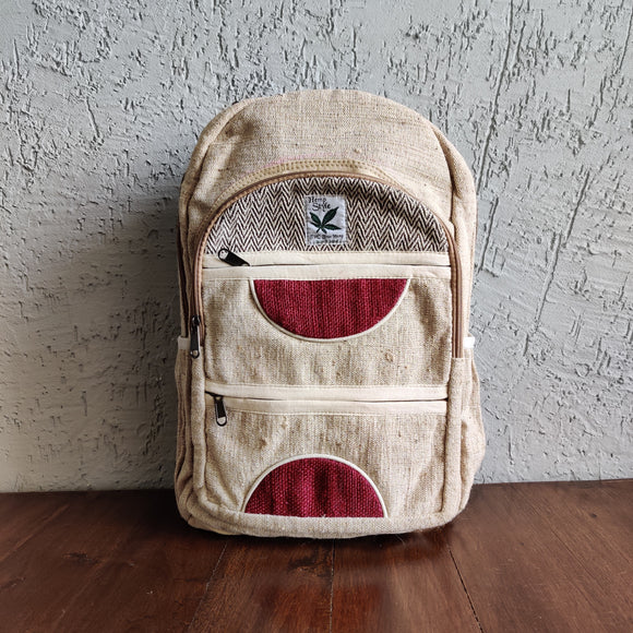 Hemp Unisex Back Pack
