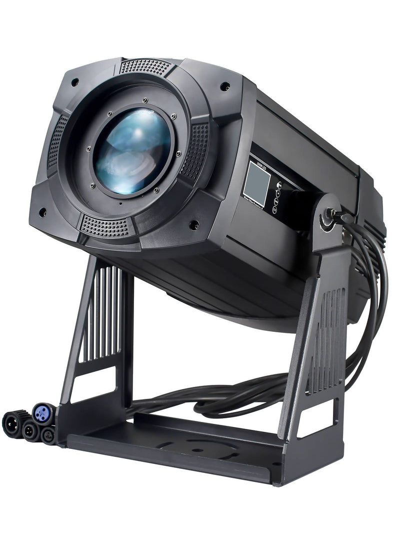 300W LED Logo Projector With Zoom, Color, Gobo & Prism IP66
