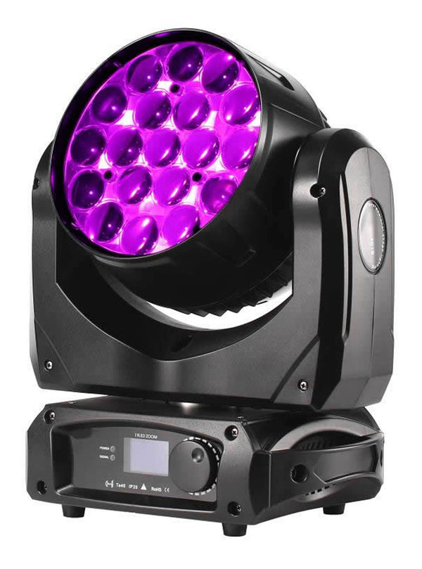 Saturn Aura 40W LED 19PCS Zoom Wash Light