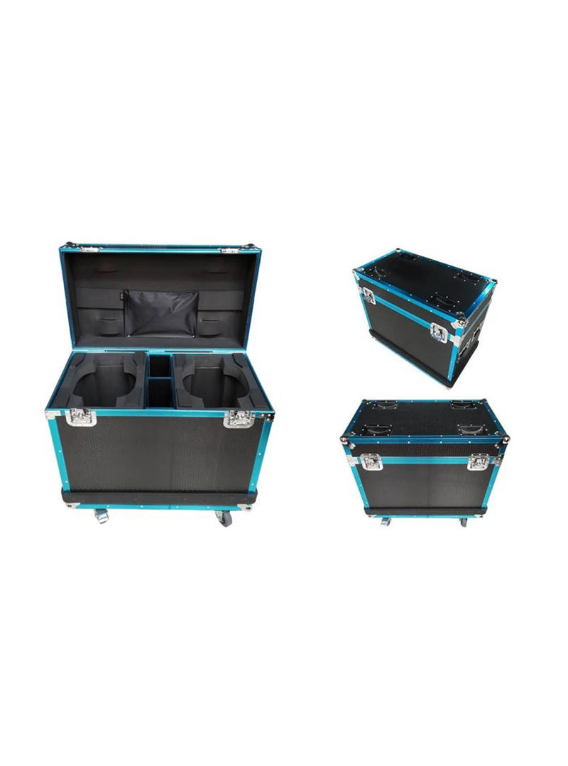 Flight Case 2 In 1 With Texture & Strip - Fits Model 19WP
