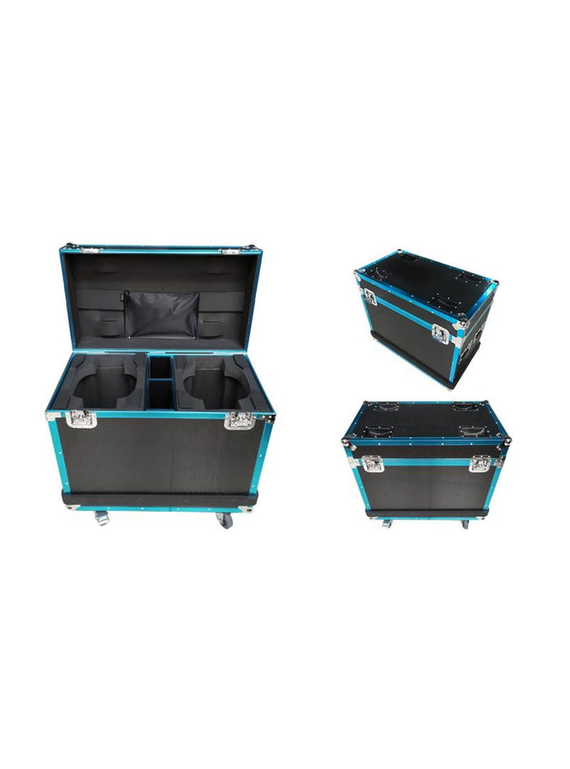 Flight Case 2 In 1 With Texture & Strip - Fits Model 300P & 300P-Z