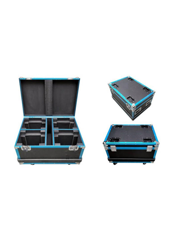 Flight Case 4 In 1 With Texture & Strip - Fits Model OE4019