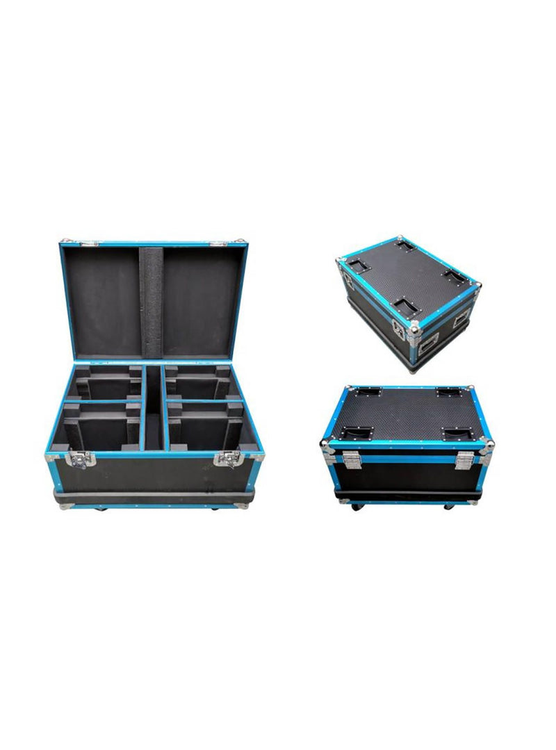 Flight Case 4 In 1 With Texture & Strip - Fits Model OE6