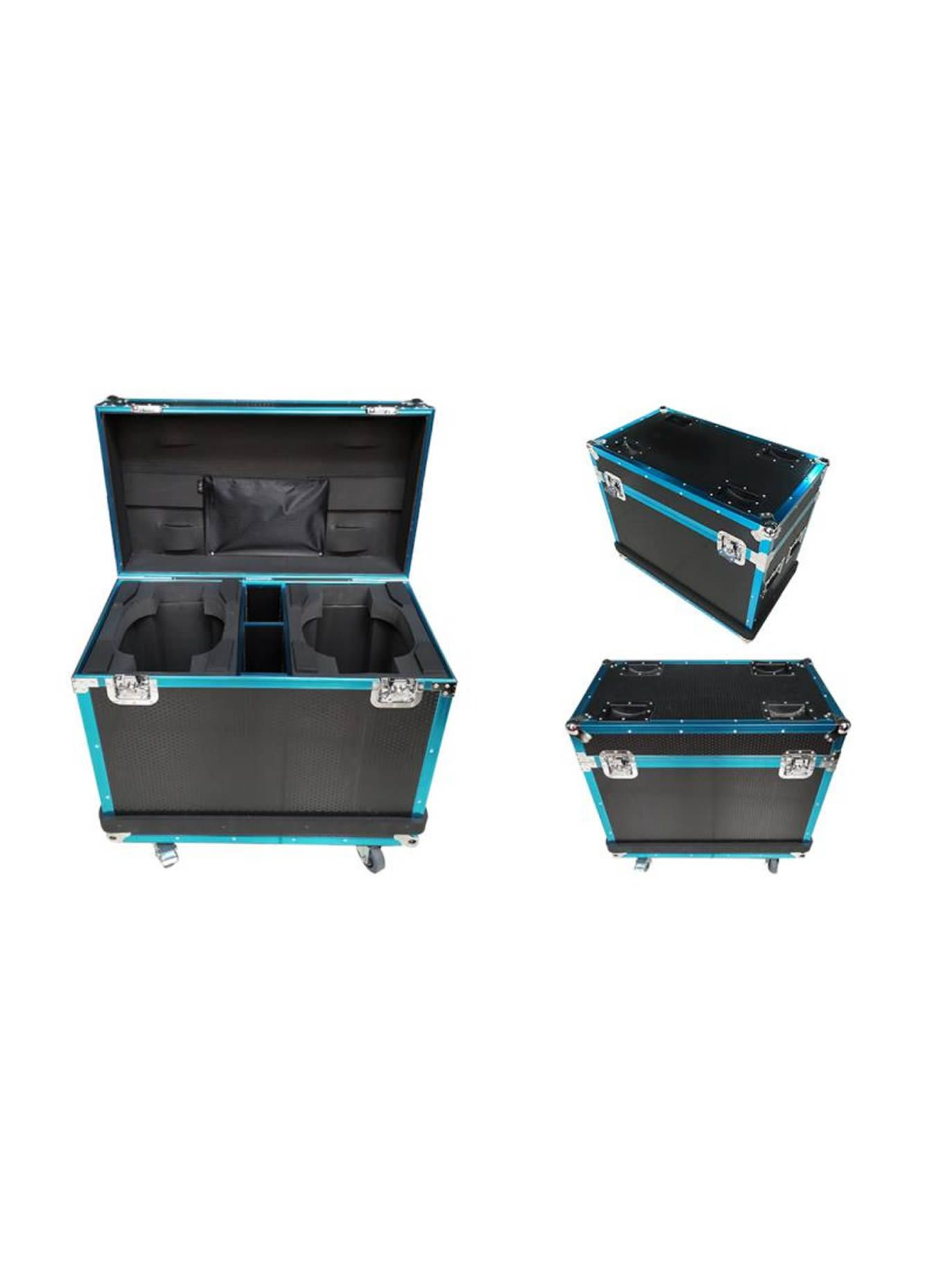 Flight Case 2 In 1 With Texture & Strip - Fits Model OE80