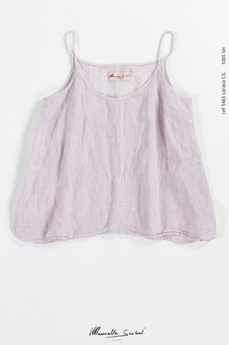 Linen camisole top (caraco cil )